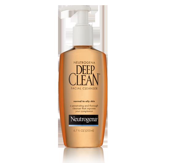 NEUTROGENA® DEEP CLEAN® Facial Cleanser