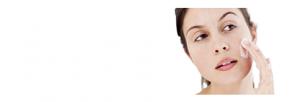 visuel de visage et crème