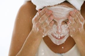 visuel visage gommage exfoliation