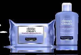 visuel de la gamme démaquillante deep clean
