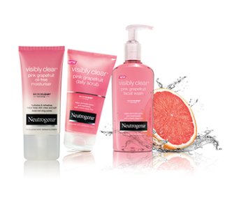 neutrogena visibly clear pink