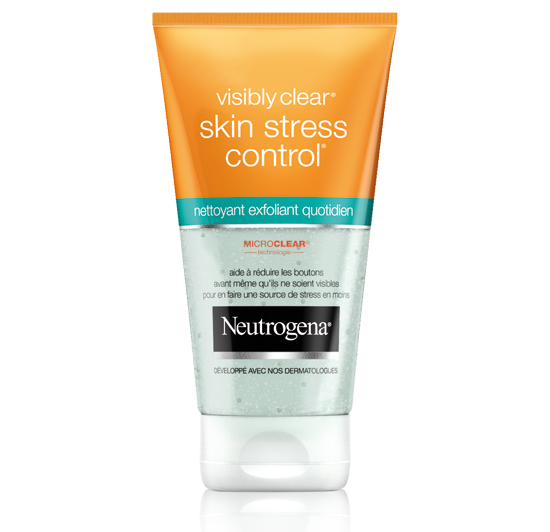 nettoyant exfoliant quotidien skin stress control®