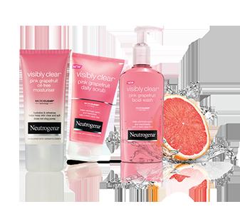 NEUTROGENA® VISIBLY CLEAR® Pink Grapefruit range