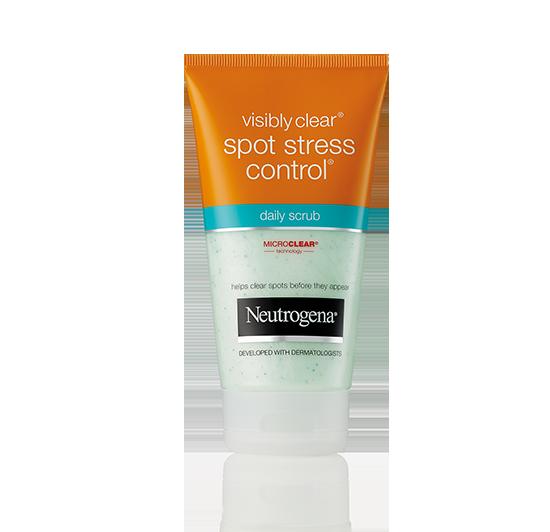 NEUTROGENA® VISIBLY CLEAR® Spot Stress Control Scrub